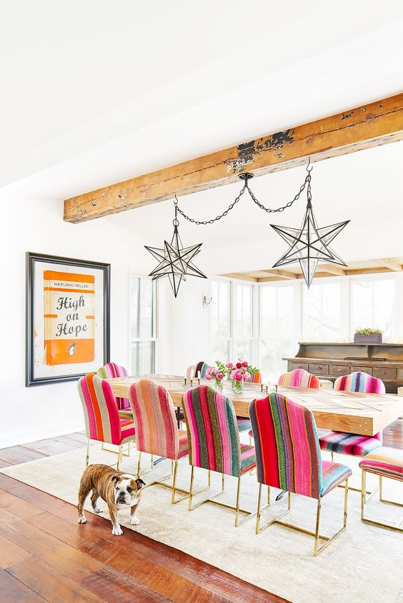How To Rock Mismatched Dining Chairs. Here Are 15 Dining Room Inspirations  That Rock Mismatched