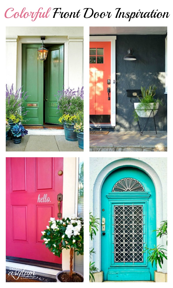 Colorful front doors design asylum blog by kellie smith for Design your own front door