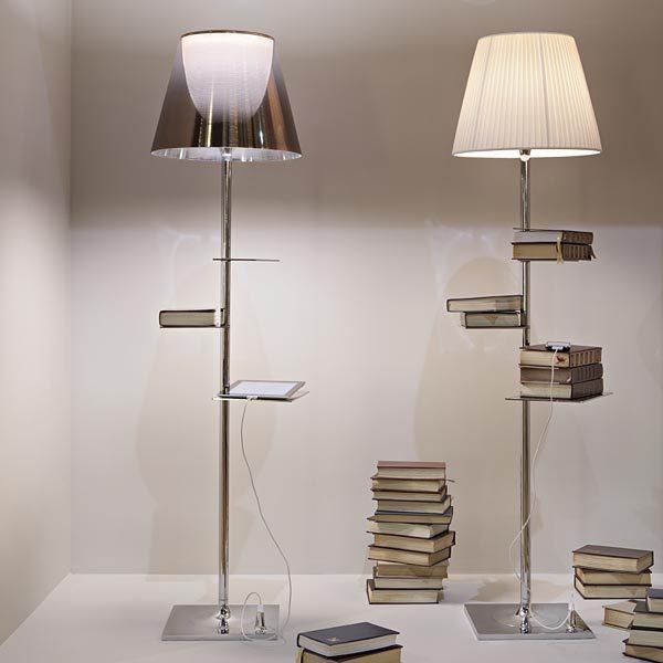 lampada biblioteque nationale flos