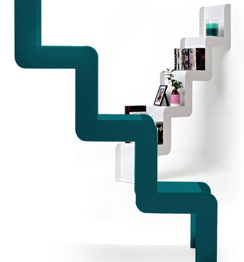 mensola design a forma di scala juliette di harto