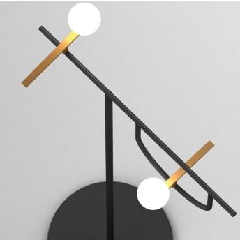 dettaglio illuminazione da terra yanzi artemide rondini stilizzate 1