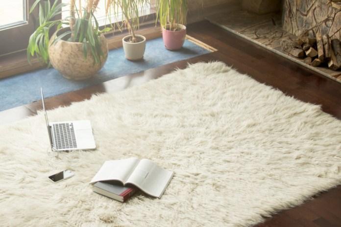 Come pulire un tappeto a secco