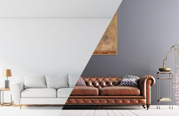divano moderno vs classico