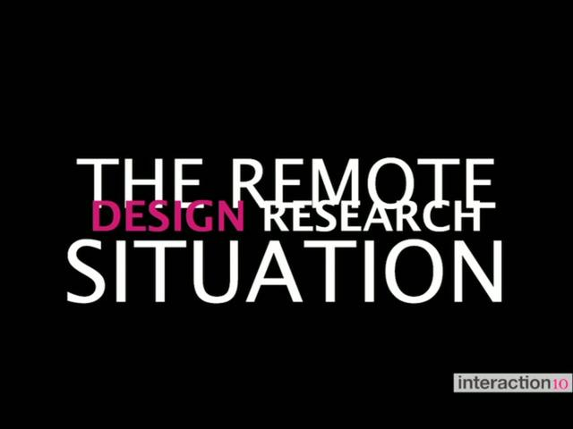 "Cyd Harrell's ""Remote Design Research"""