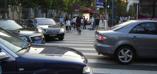 Living in China: Braving the Traffic