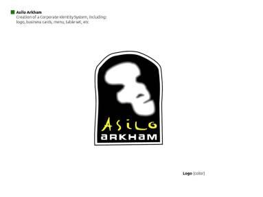 Asilo Arkham: Logo