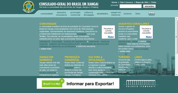 Consulate General of Brazil in Shanghai: HOME PAGE
