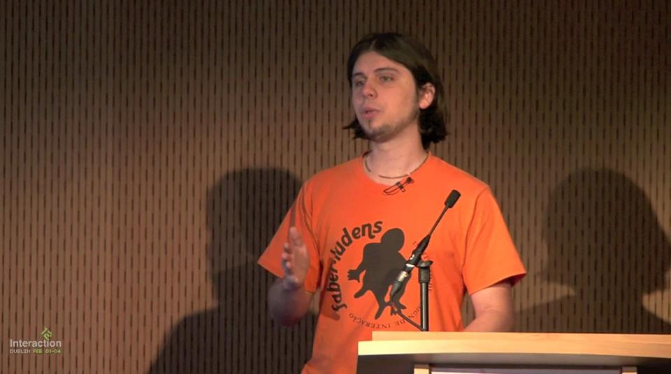 "Watch Frederick van Amstel's ""Vernacular Interaction Design"" talk at Interaction'12 