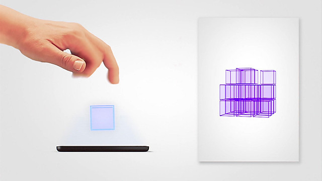 """3D"" Capacitive Touchscreen"