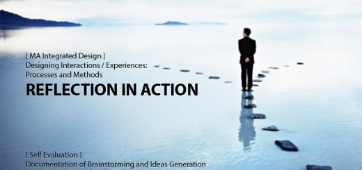 Designing Interactions / Experiences: Reflection in Action