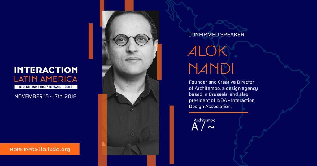Alok Nandi at IxDA's ILA2018