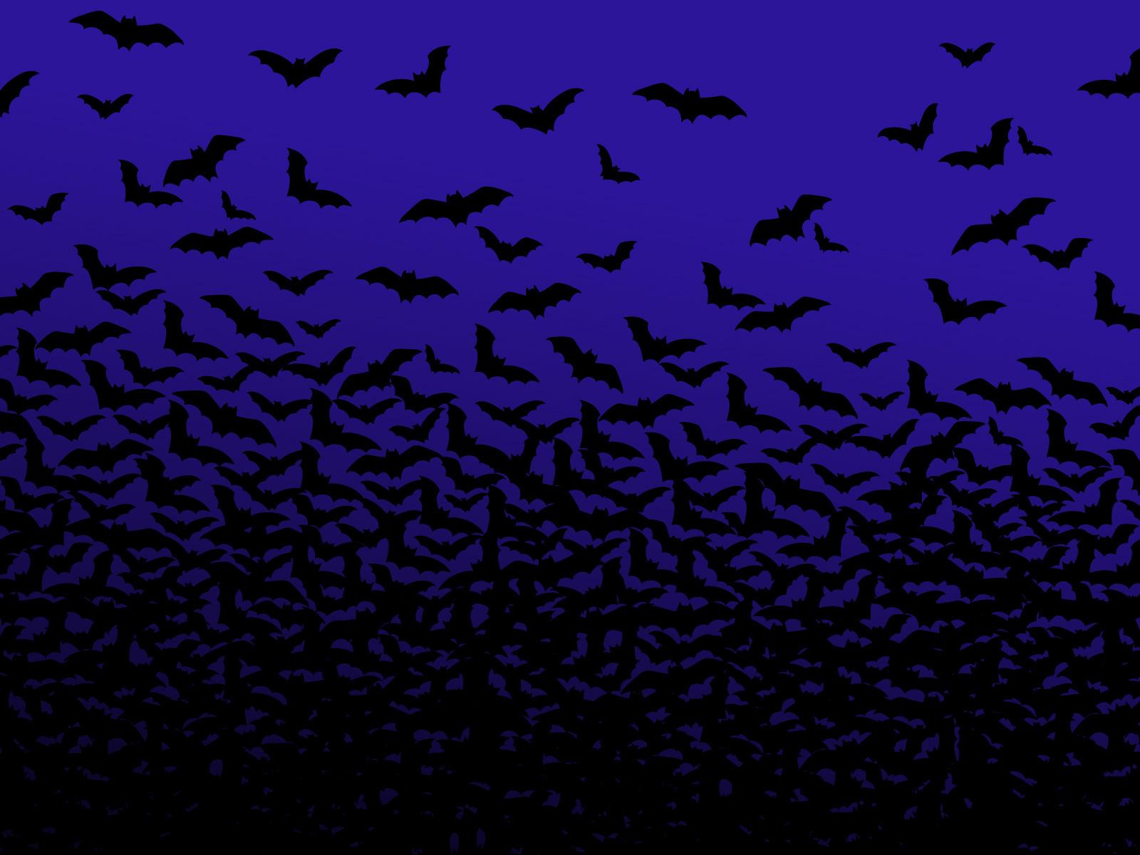 Swarm Bats Wallpaper