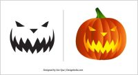 halloween templates free pumpkin