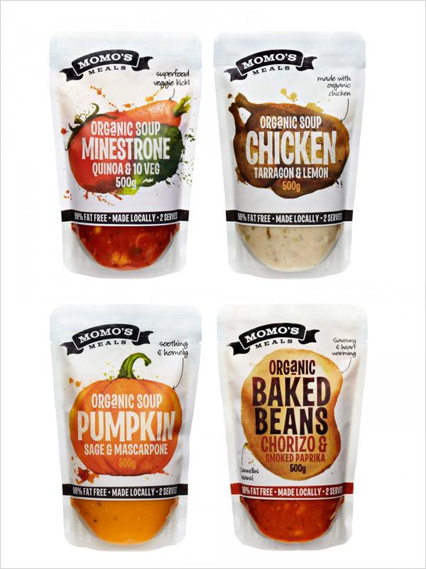 Momo-meals-Soup-packaging-design-range