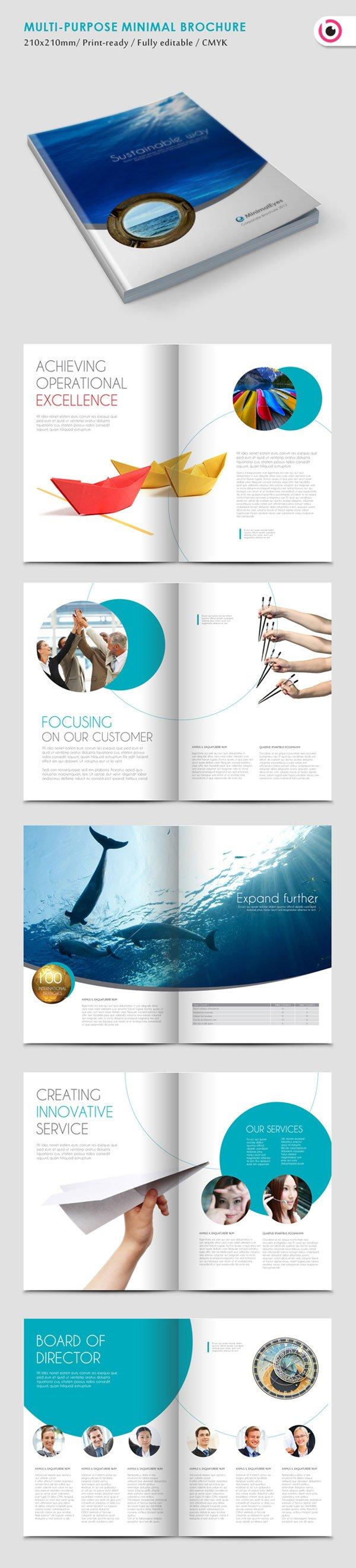 minimal-brochure-design-template
