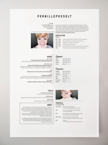 10 Interesting   Simple Resume Examples You Would Love To Notice Simple Resume Examples
