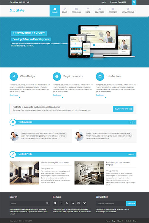 Top 12 Best Free Responsive WordPress Themes for 2014 ...
