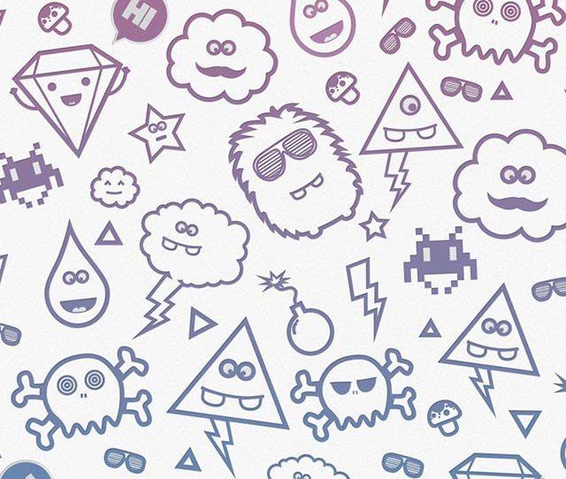Cute Monsters Iphone Wallpaper