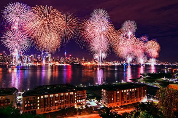 New York Fireworks 2014