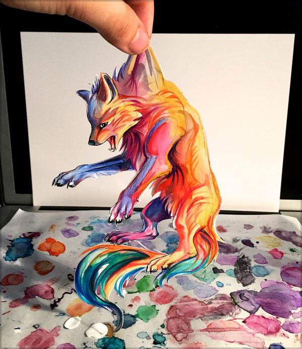 20+ Amazing Colour Pencil Drawings by Katy Lipscomb