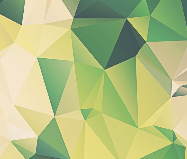 Green Polygon Iphone  Background