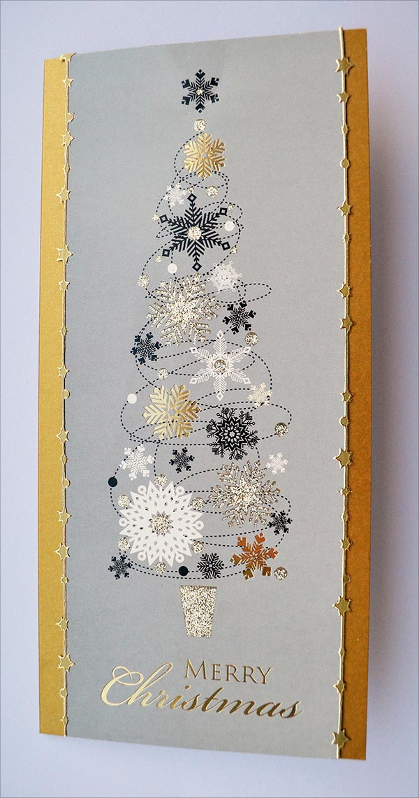 50 Beautiful DIY Amp Homemade Christmas Card Ideas For 2015