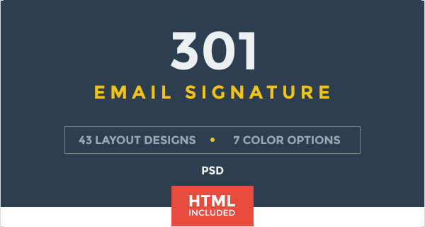 50 Best Professional HTML Outlook Email Signature Designs Templates For Inspiration