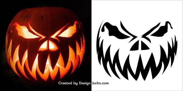 Pumpkin carving patterns free download
