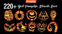 halloween jack o lantern designs free