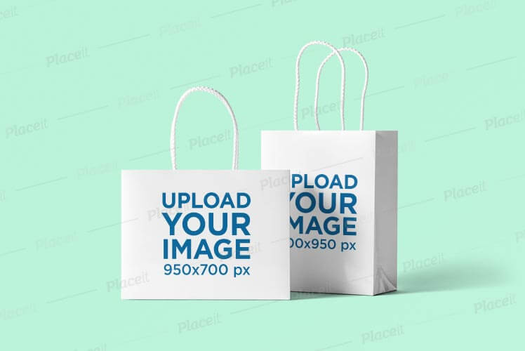 The entire library of our object mockups is at your disposal. 50 High Quality Free Shopping Bag Mockup Psd Files
