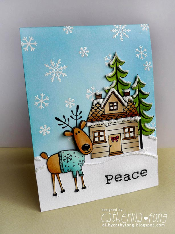 50 Beautiful DIY Homemade Christmas Card Ideas For 2018
