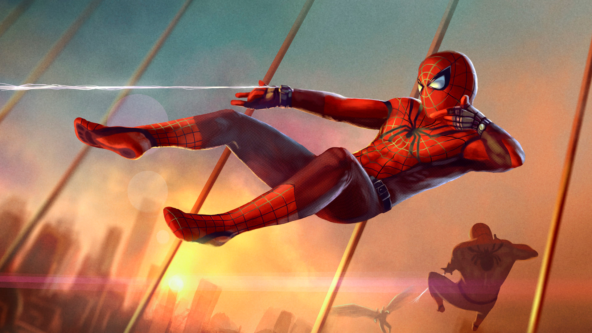 Spider Man Far From Home Movie Wallpapers Hd Cast