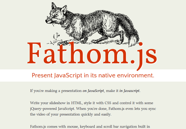 fathomjs 12 Browser-Based CSS3 Slideshow Tools