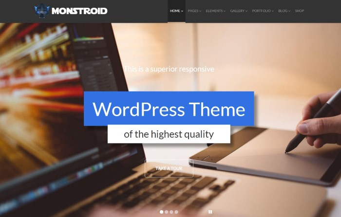 monstroid 7 Top Corporate / Business WordPress Themes + What Makes Them Great