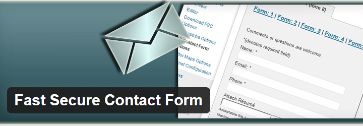 fast-secure-contact-forms 8 Best Contact Form Plugins for WordPress