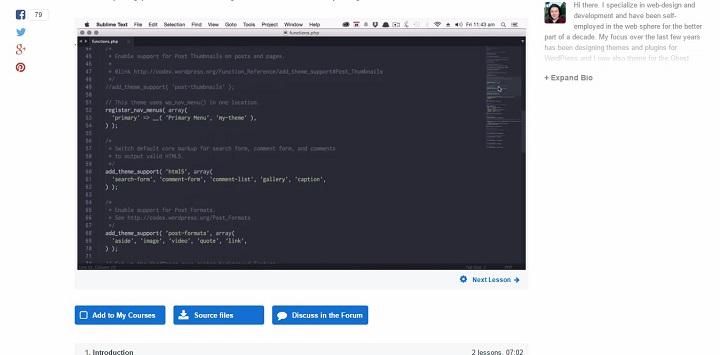 tutsplusvideocourse Team Treehouse vs Code Academy vs Tuts+ (For Aspiring WordPress Developers)