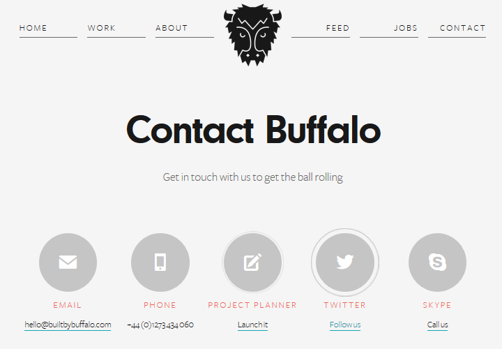 Built-by-Buffalo-Contact-Page-Example How to Create a Compelling Contact Page