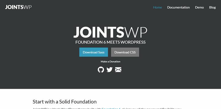 jointswp 8 Best WordPress Starter Themes And Frameworks For New WP Developers