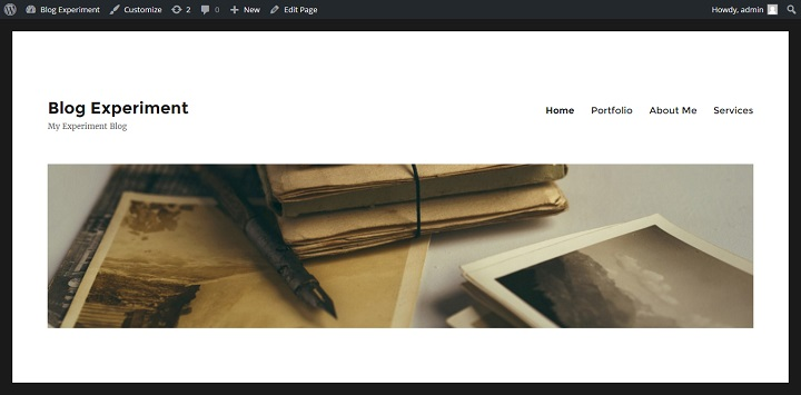 withheaderimage How To Master Twenty Sixteen (Or Any WordPress Theme)