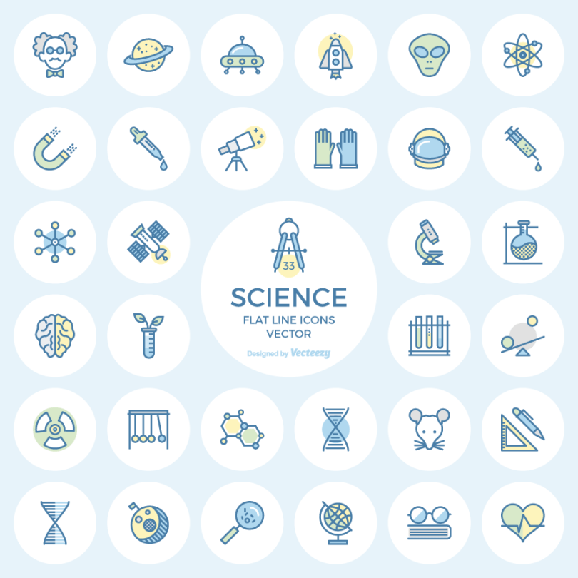 science-flat-line-icons-preview Freebie: Science Flat Line Icons