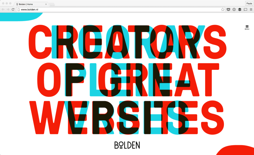 10 17 Websites with Typography Driven Design