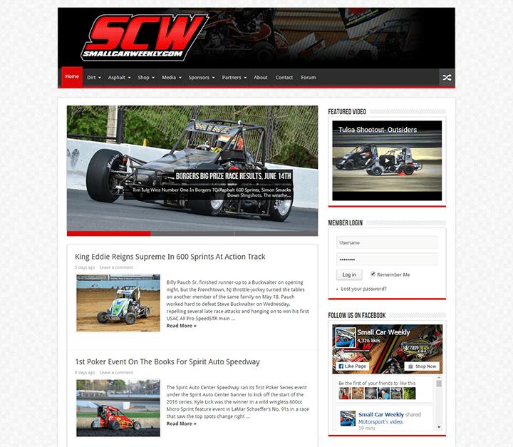 Small-Car-Weekly 20 Impressive Websites Built With Sahifa WordPress Theme