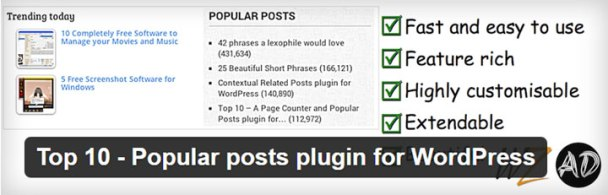 Top-10 6 of the Best Popular Posts Plugins for Your WordPress Site