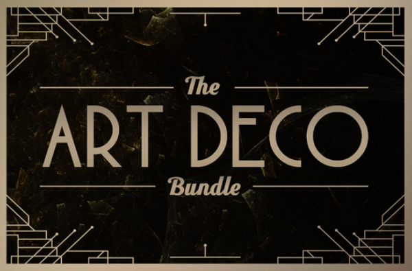 art-deco-bundle 22 Beautiful Premium Fonts for Logo Designs