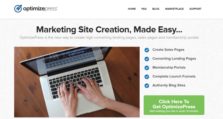 optimizepress 6 of Best Landing Page & Sales Page Themes for More Leads & Traffic