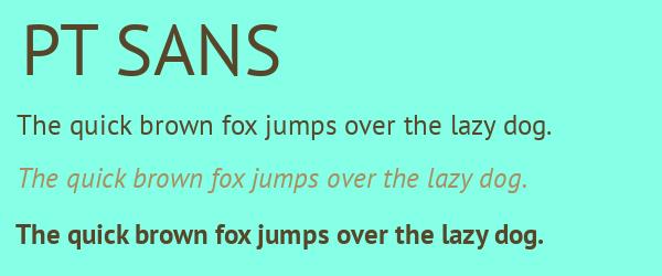 pt-sans Best Fonts for Websites: 25 Free Fonts for Websites