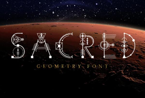 sacred-geometry-font 27 Free & Premium Designer Fonts