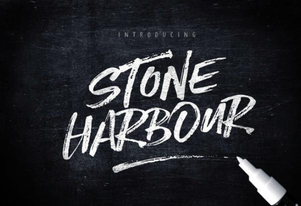 stone-harbour 22 Beautiful Premium Fonts for Logo Designs