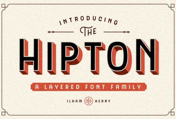 the-hipton 27 Free & Premium Designer Fonts