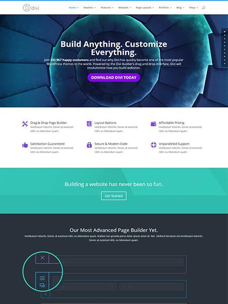 divi-theme 18 Best Minimalist WordPress Themes For Business, Portfolio, and Blogs